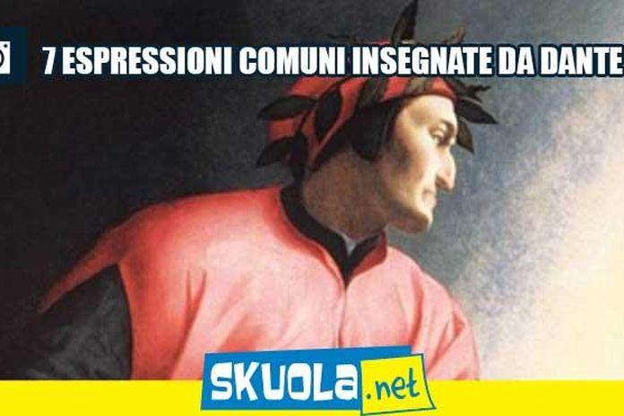 Le 7 Espressioni Più Comuni Che Ci Ha Insegnato Dante