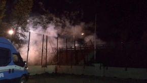 No Tav, pietre e bombe carta contro le forze dell'ordine nel cantiere di San Didero