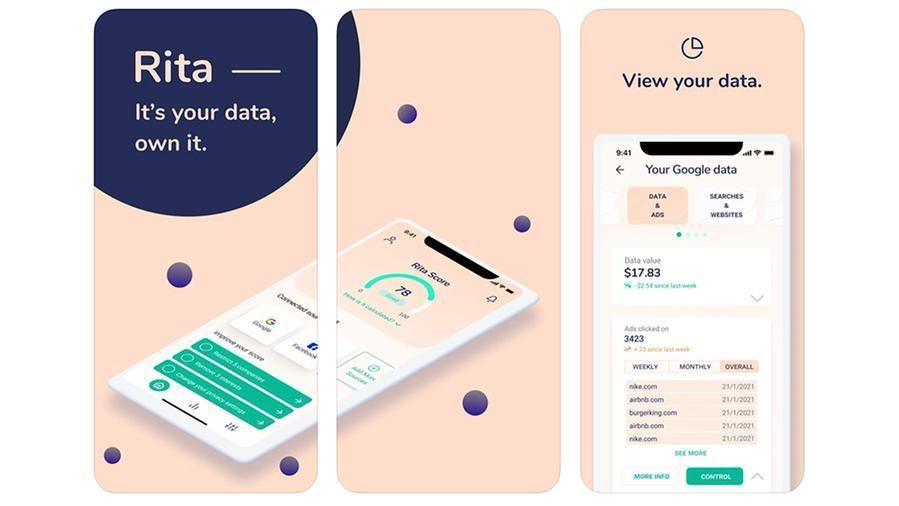 Rita, l'app che ci mostra cosa sanno di noi Google e Facebook