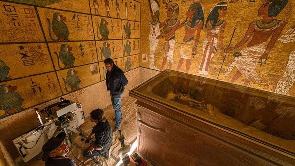 "Politecnico: ""Nessuna camera segreta nella tomba di Tutankhamon ..."