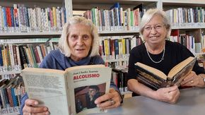 Giuliana e Gemma, come prendersi cura dei pazienti con i libri