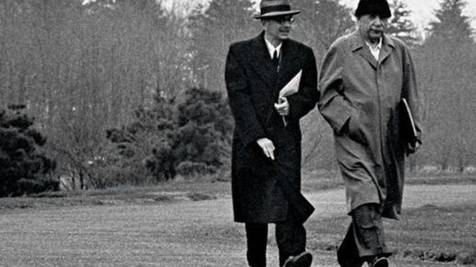 Di che cosa parlavano Einstein e Gödel? Di politica, fisica