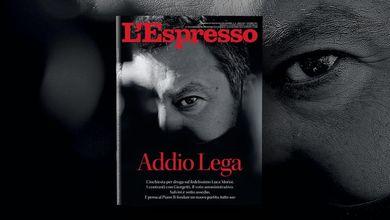 Addio Lega: L'Espresso in edicola e online da domenica 3 ottobre