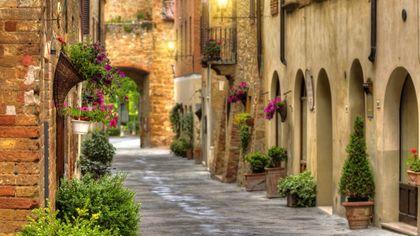 Pienza, le immagini del borgo toscano