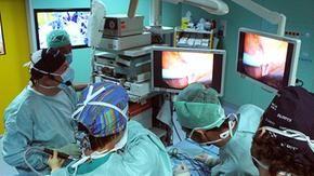 Citt della Salute super intervento neonata cuore fegato esterno corpo