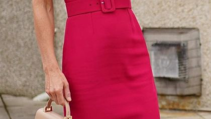 Kate Middleton: bianco e rosa, due look Alexander McQueen per il weekend del G7
