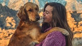 At 24, she left her boyfriend and her job to travel around America in a van with her dog