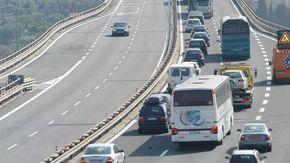 Bordighera, code in autostrada per un piccolo incidente