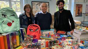 """La cartoleria solidale: """"colori sospesi"""" per aiutare le famiglie in difficoltà"""