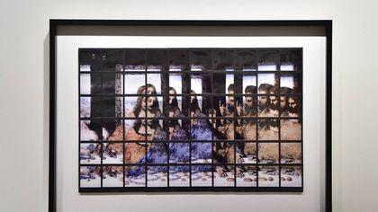 """I mosaici fotografici di Maurizio Galimberti che """"smontano"""" il Cenacolo di Leonardo"""