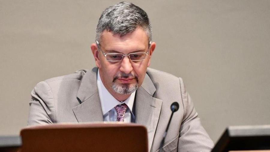 Lo psicologo Mauro Grimoldi, ex presidente dell'Ordine professionale lombardo