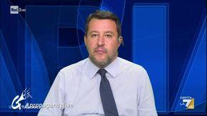 I silenzi di Matteo Salvini dopo la domanda di Bianca Berlinguer sul Green pass secondo Propaganda Live