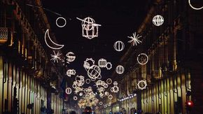 Tornano a brillare a Torino da venerdì 29 le luci d'artista