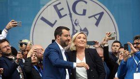 """Video-chiamata Salvini-Le Pen fan francesi scatenati sui social: """"Lui sta con Draghi"""""""