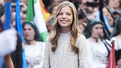 Buon compleanno Sofia, l'infanta di Spagna compie 14 anni