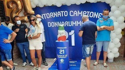 """Donnarumma torna a Castellammare: """"Ho vinto anche per la mia città"""""""