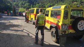 Notte di ricerche per un escursionista di Caraglio non rientrato dopo una gita in alta valle Gesso