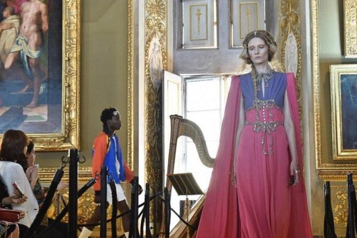 Risultati immagini per Gucci show nei Musei Capitolini foto