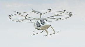 Geely e Volocopter, una joint venture per i maxi droni elettrici