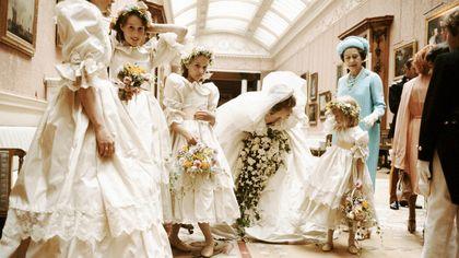 L'abito da sposa di Lady Diana in mostra a Londra