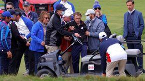 Malore durante un torneo di golf per Tom Felton, il Draco Malfoy di Harry Potter