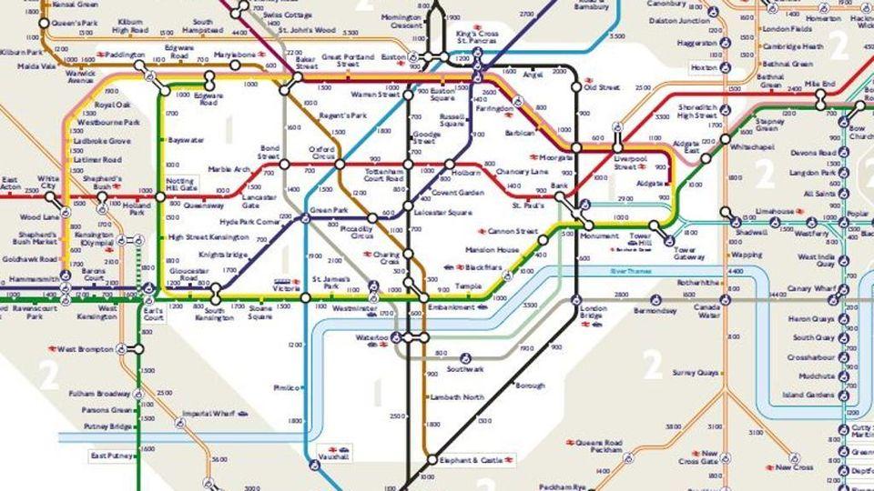 Cartina Della Metropolitana Di Londra.L Invito Della Metro Di Londra Andate A Piedi La Stampa