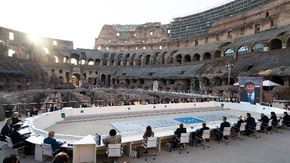 """G20 Cultura, Draghi: """"L'Italia ha il maggior numero di siti Unesco, quando il mondo ci guarda vede storia e bellezza"""""""