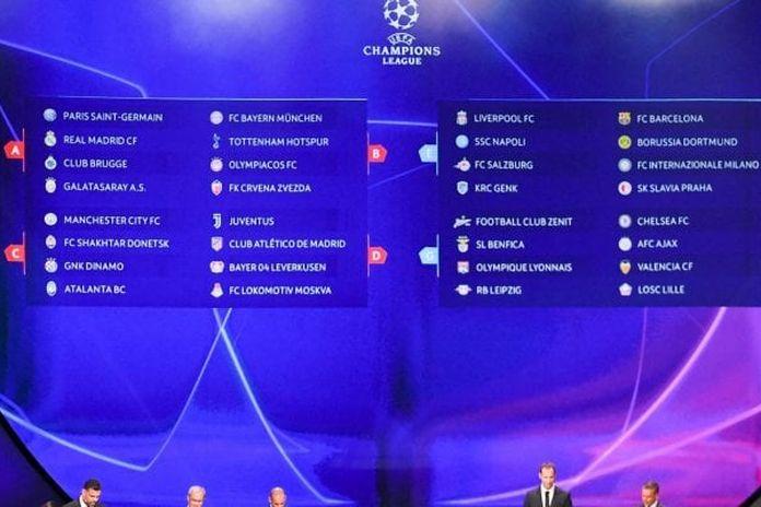 Partite Champions Calendario.Champions League Girone Di Ferro Per L Inter Juve Con L