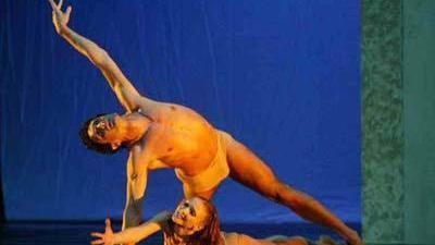 Anche il balletto con Marcello Algeri