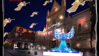 Luminarie, ecco le luci di Natale di Napoli: 140km di strade e 36 piazze