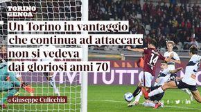 """Giuseppe Culicchia: """"Un Torino in vantaggio che continua ad attaccare non si vedeva dai gloriosi anni 70"""""""