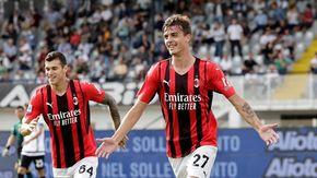 Maldini jr, storica rete allo Spezia all'esordio da titolare e il Milan vince 2-1