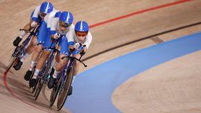 Balsamo spinge il quartetto azzurro dell'inseguimento a squadre, Italia in finale a Tokyo
