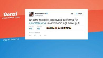 PA, approvata la riforma. E Renzi abbraccia i 'gufi'