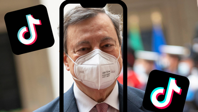 Mario Draghi a sorpresa fa il rap su Tik Tok