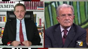"""Prodi a Giannini: """"In Europa preoccupa la vittoria del centrodestra se seguirà la linea Meloni"""""""