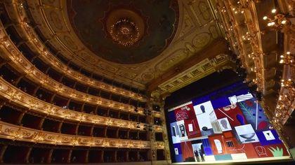 Parma, dopo 200 anni il Teatro Regio ha un nuovo sipario