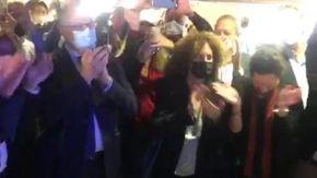 Comunali Roma, la gioria sfrenata di Gualtieri al primo exit poll