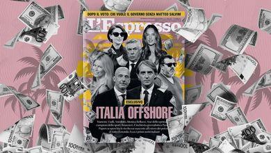 Italia Offshore: L'Espresso in edicola e online da domenica 10 ottobre
