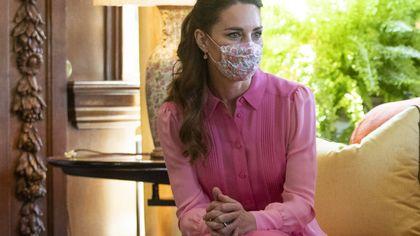 Kate Middleton e l'abito rosa perfetto per l'estate