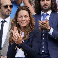 Kate veste i pois a Wimbledon. E ci ricorda tanto Lady D