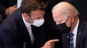 """Sottomarini, Biden-Macron: """"Colloqui aperti tra gli alleati avrebbero evitato la crisi"""""""