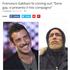 """Il coming out di Gabbani, l'ultima bufala di Corrosa: """"Il mio è un esperimento, sui social si crede a tutto"""""""