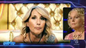 Grande Fratello Vip, è ancora scontro tra Katia Ricciarelli e Jo Squillo