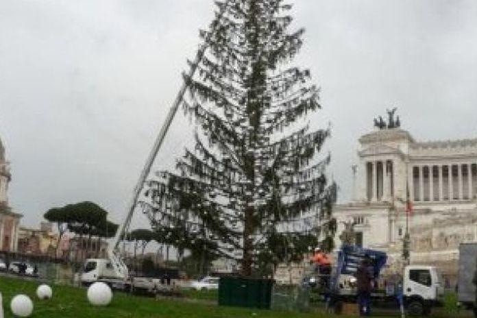Albero Di Natale Roma 2019.Spelacchio Addio Arriva L Albero Di Natale Firmato Netflix Da