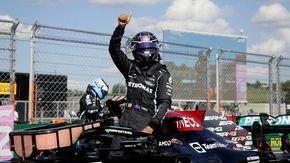 F1, Gp d'Ungheria: Hamilton in pole, Verstappen terzo. Prima fila Mercedes, solo 7° Leclerc