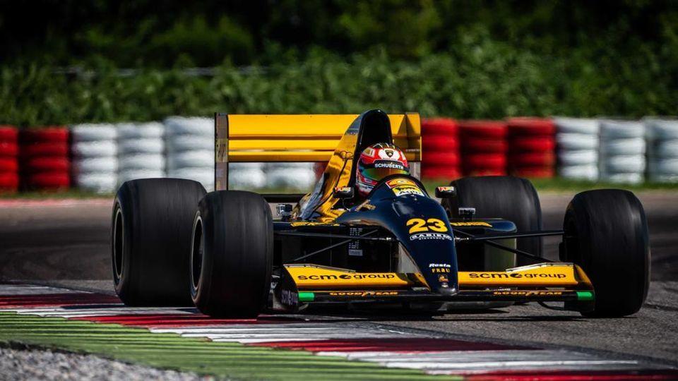 comprare popolare più tardi 50% di sconto La Formula 1 Minardi-Lamborghini del 1992 torna a ruggire dopo 26 ...