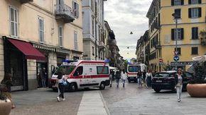 Novara, anziano muore soffocato in un bar del centro