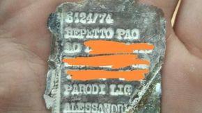 """""""Cercate i parenti di Paolo morto prigioniero in Russia, ho trovato la sua piastrina e voglio donargliela"""""""