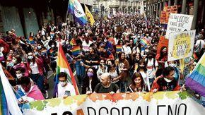 """Il fiume arcobaleno: """"Serve un vaccino per fermare l'odio"""""""
